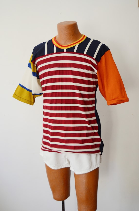 1980s Rugby Shirt - M - image 2