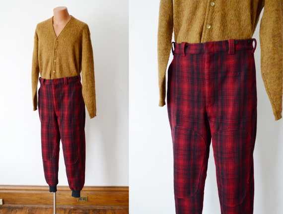 80s Woolrich Plaid Hunting Pants