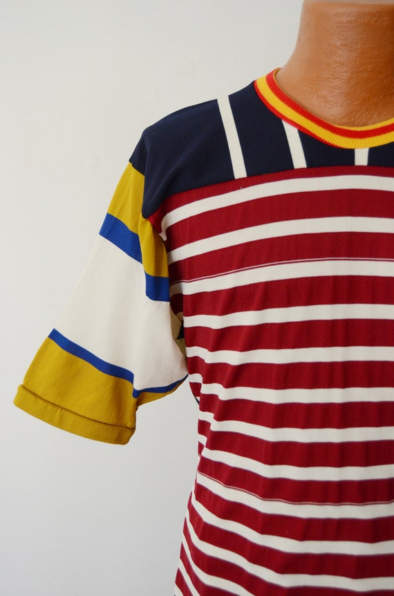 1980s Rugby Shirt - M - image 3