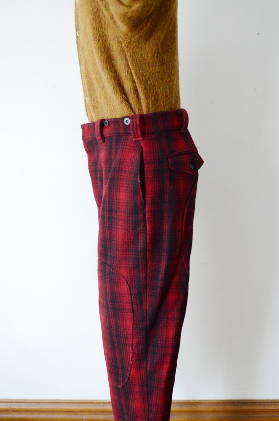 80s Woolrich Plaid Hunting Pants - image 7
