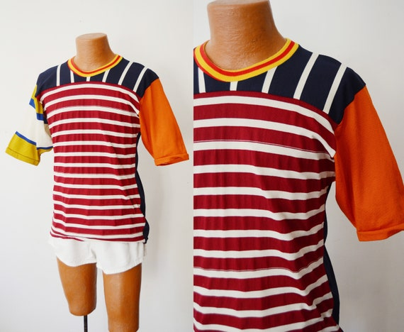 1980s Rugby Shirt - M