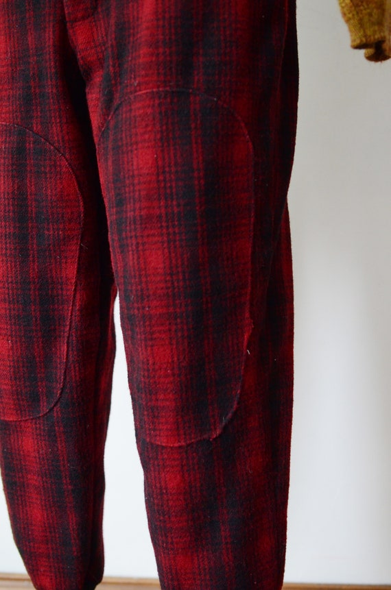 80s Woolrich Plaid Hunting Pants - image 4