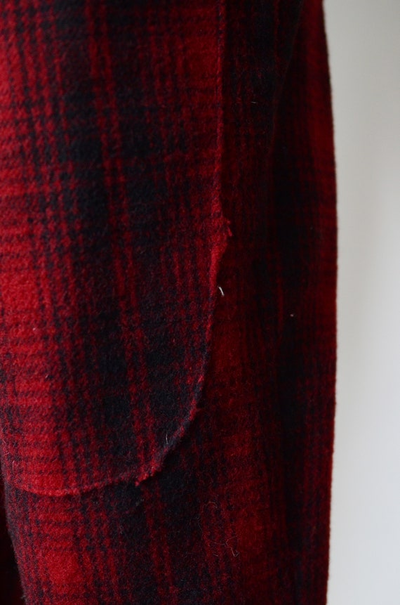 80s Woolrich Plaid Hunting Pants - image 5