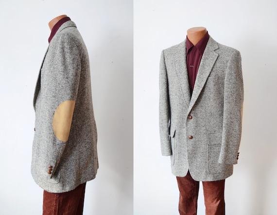 Stanley Blacker Vintage Mens Tweed Blazer