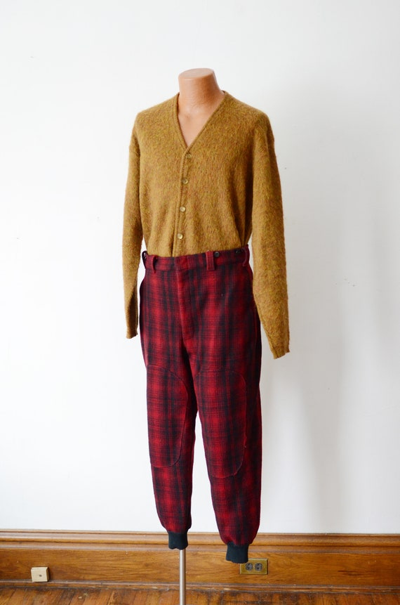 80s Woolrich Plaid Hunting Pants - image 2