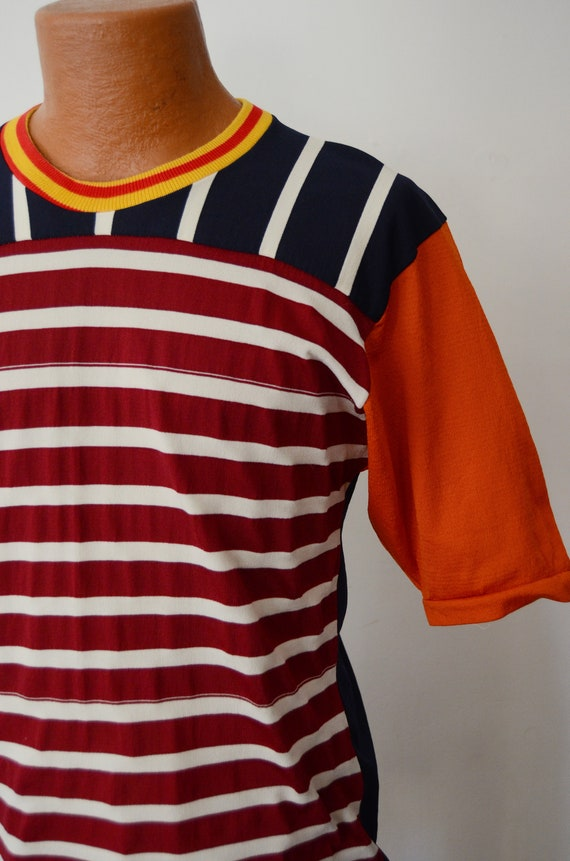 1980s Rugby Shirt - M - image 4