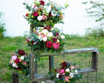 Artificial Flower Arrangement Etsy