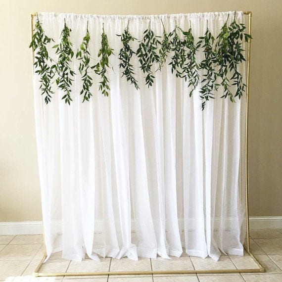 Wedding Backdrop/ Backdrop Stand/ Ceremony Backdrop