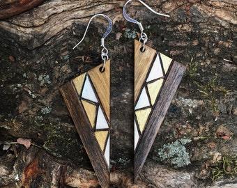 Pathway Dagger Earrings