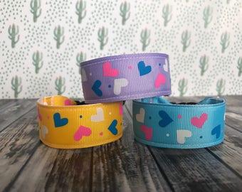 Hearts kids i.d bracelet, kids bracelet, personalize
