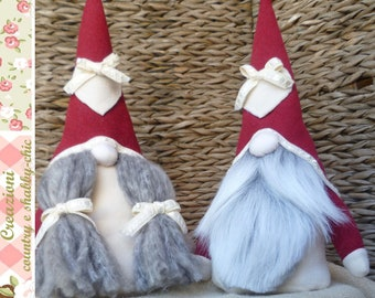 Couple of gnomes, gnome, girl gnome, Swedish gnomes, Tomte, Nordic gnomes, Nisse, Scandinavian gnomes, Woodland Gnomes, mountain gnomes