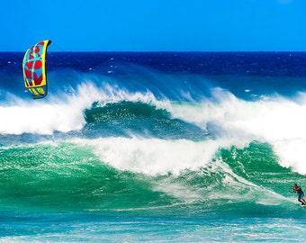 b2734cee3669 Aqua teal heart wave photograph beach decor ocean waves surf