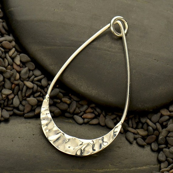 Antique Finish Moon Dangle Charm Jewellery Making X10 **UK SELLER**