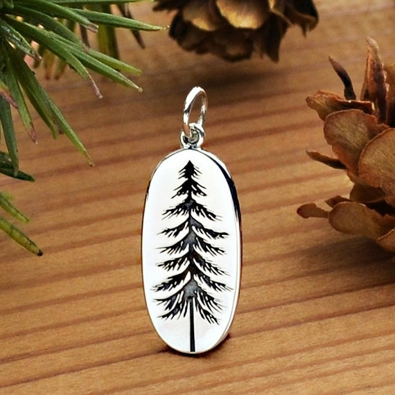 Pine Cone Charm Sterling Silver for Bracelet Tree Forest Mountain Holiday NEW