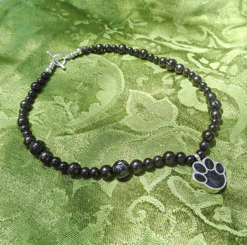 Memento Mori Mourning Wear Healing Crystals Necklace Cremation image 0