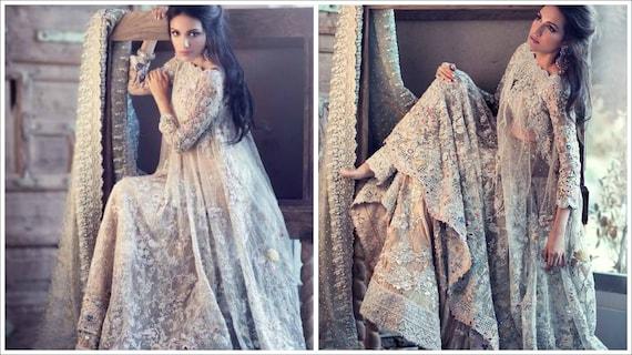 Pakistani Bridal Dress Elan Inspired Bridal Wedding Etsy