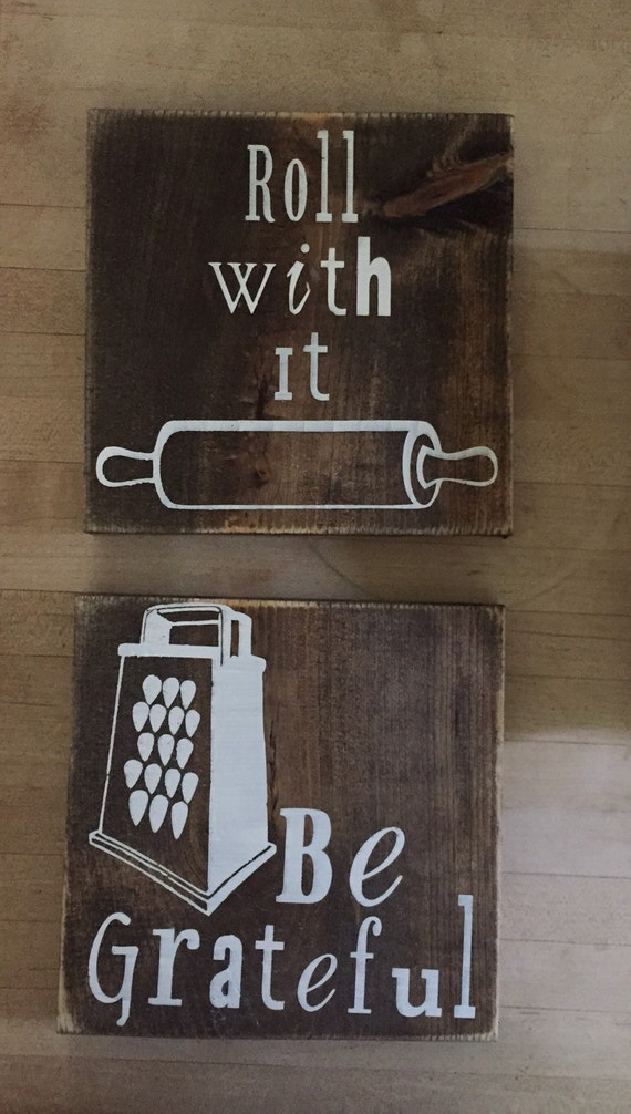 items similar to wooden kitchen sign/ kitchen decor/ be