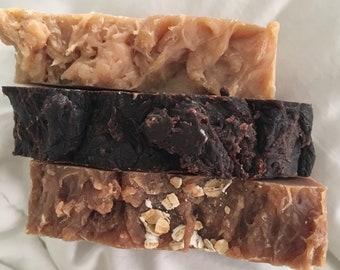 Oatmeal, Vanilla Goat Milk bar