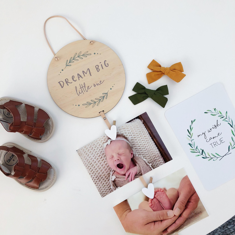 DREAM BIG Memory Drops   magnetic photo hangers, instagram photo holder,  picture hanger, magnetic photo frame, photo frames, mom