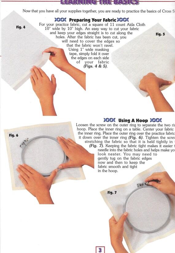 Contó Cruz puntadas Me enseñe a coser libro de instrucciones | Etsy