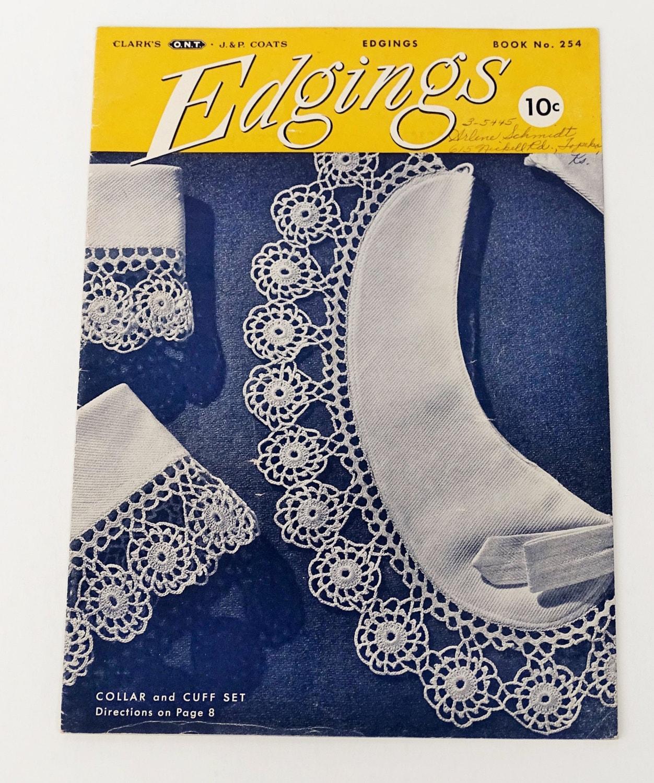 Bordüren häkeln 1940er Anleitungen und Schnittmuster buchen