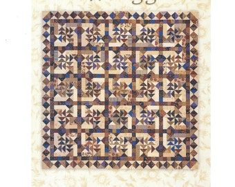 Whirligig  Quilt Pattern by Miss Rosie's Quilt Co.,  RQC #49, Flying Geese Block, Quilting, Quilt Design, Patchwork