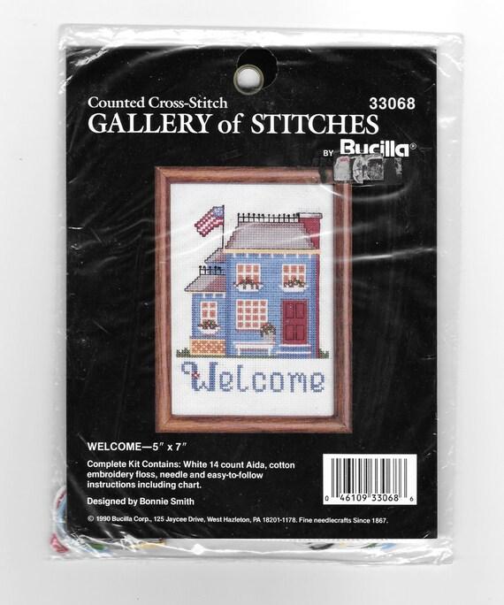 Le dimensioni conteggiati X Stitch-Segui la corrente