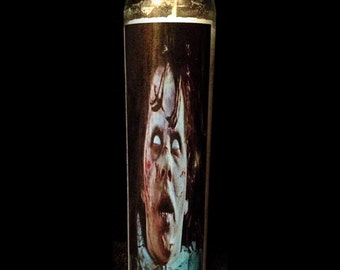 "The Exorcist 2x8"" Horror Candle from Toxxic Candles"