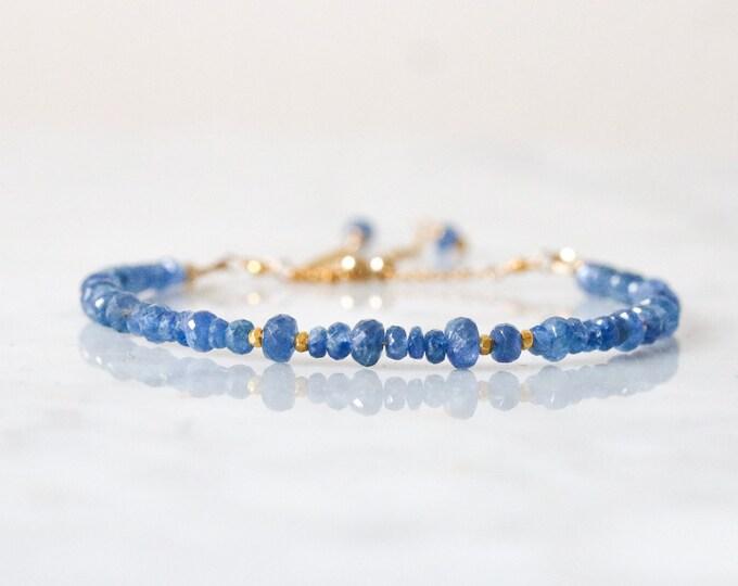 Featured listing image: Sapphire Gold Karen Hill Bracelet