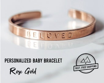 7ff2ed59c7b Personalized Baby Bracelet for Girls