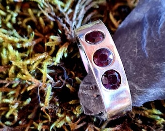 Ring Chunky with Rubies