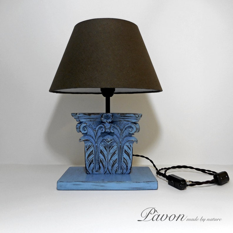 made in Italy vintage,design,gift,gift idea antique nature hand made lighting,abat-jour,lamp shade Lamp,table lamp,wood lamp