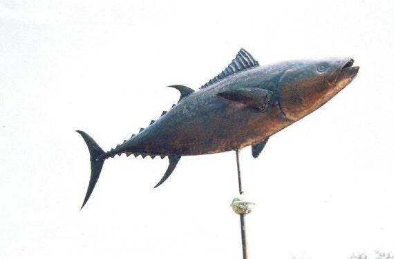 Fish Weathervane Bluefin Tuna Yellowfin Tuna Weathervane Etsy