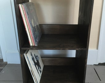 LP Storage Shelf