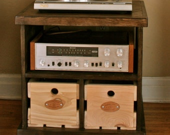 Record Player Console