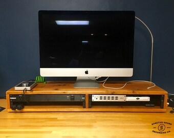 """Cedar """"Side-By Side"""" Desktop Studio Rack"""