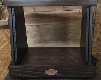 8U Slanted Studio Rack - KETO Style - Kona Finish