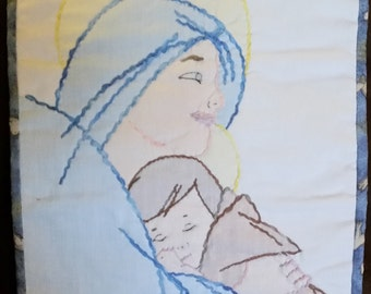 Madonna and Child Wall hanging