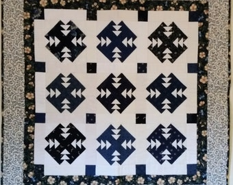 Double T Wall Hanging or Table Topper