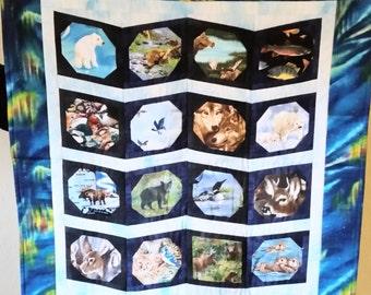 Alaskan Animal 'Photo' wall hanging