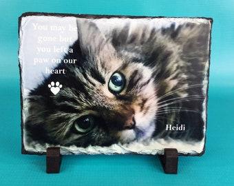 Cat, Cat Memorial, Pet Memorial, Pet Loss Gift, Pet Remembrance, Loss of Pet, Pet Memorial Gift,Sympathy Gift,Pet Bereavement,Pet Loss Frame