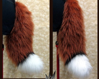 Soft and fluffy Fox Tail!  (faux fur)
