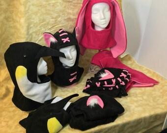 Hoodie Hats!  Fleece & Warm