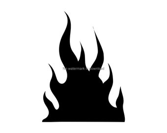 graphic relating to Printable Flame called Printable flames Etsy