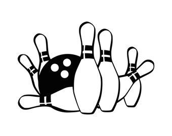 bowling svg etsy rh etsy com bowling clipart black and white bowling clipart free