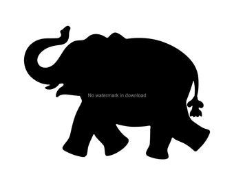 picture regarding Printable Elephant named Elephant printables Etsy
