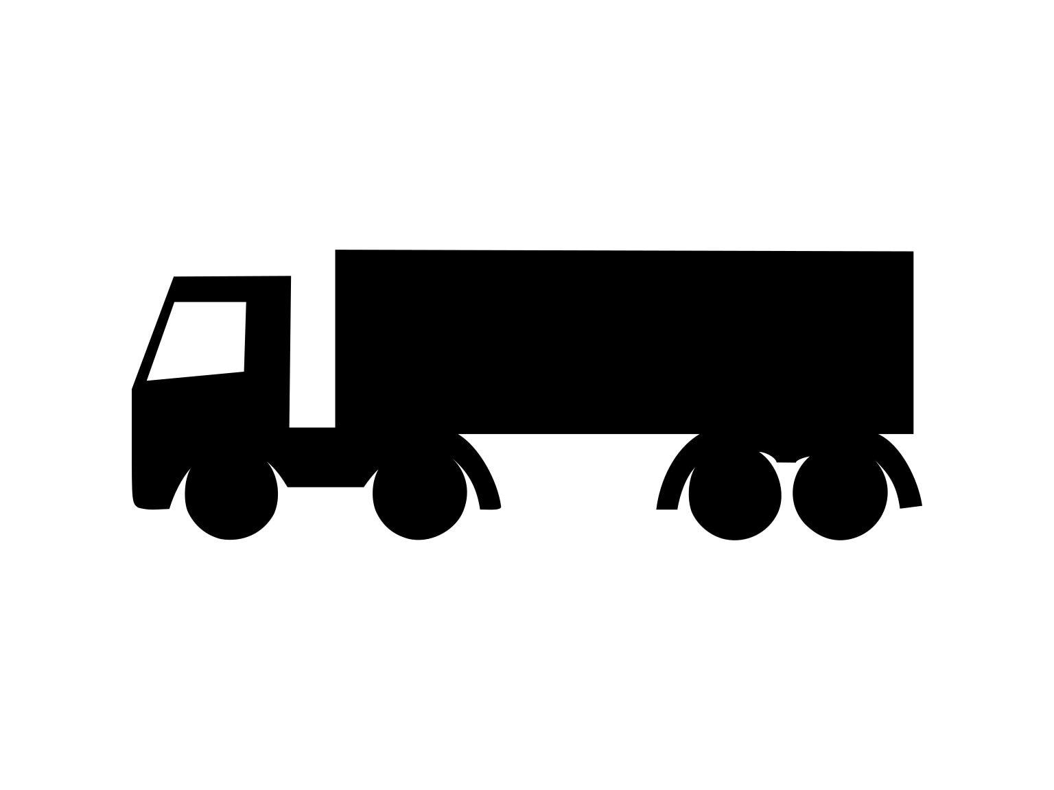 Truck Svg, Semi Truck Svg, Truck Vector, Truck Download, Truck Svg File,  Truck Illustration, Cutting Svg, Truck Clipart, Truck Cut File