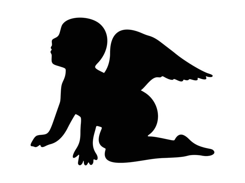 Angel svg Angel Baby Svg Angel Clipart Christmas Holiday Kids Art Vector