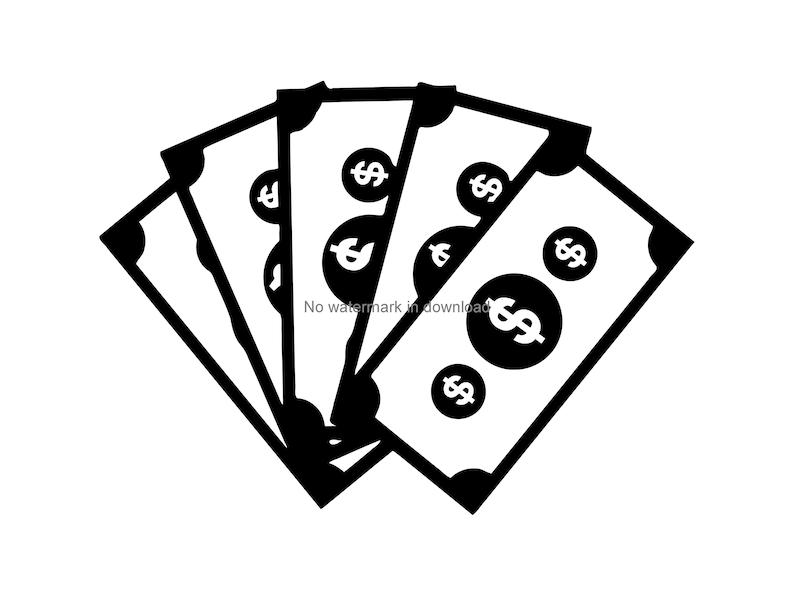 Download Dollars Svg Dollar Bills Svg Cash Svg Money Cutting File ...