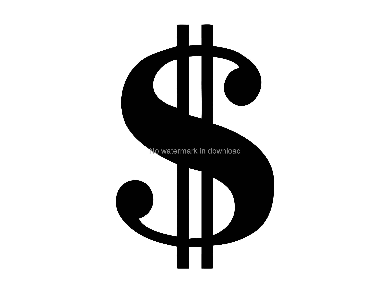 Download Dollar Sign Svg Digital Download Dollar Sign Digital Cut ...